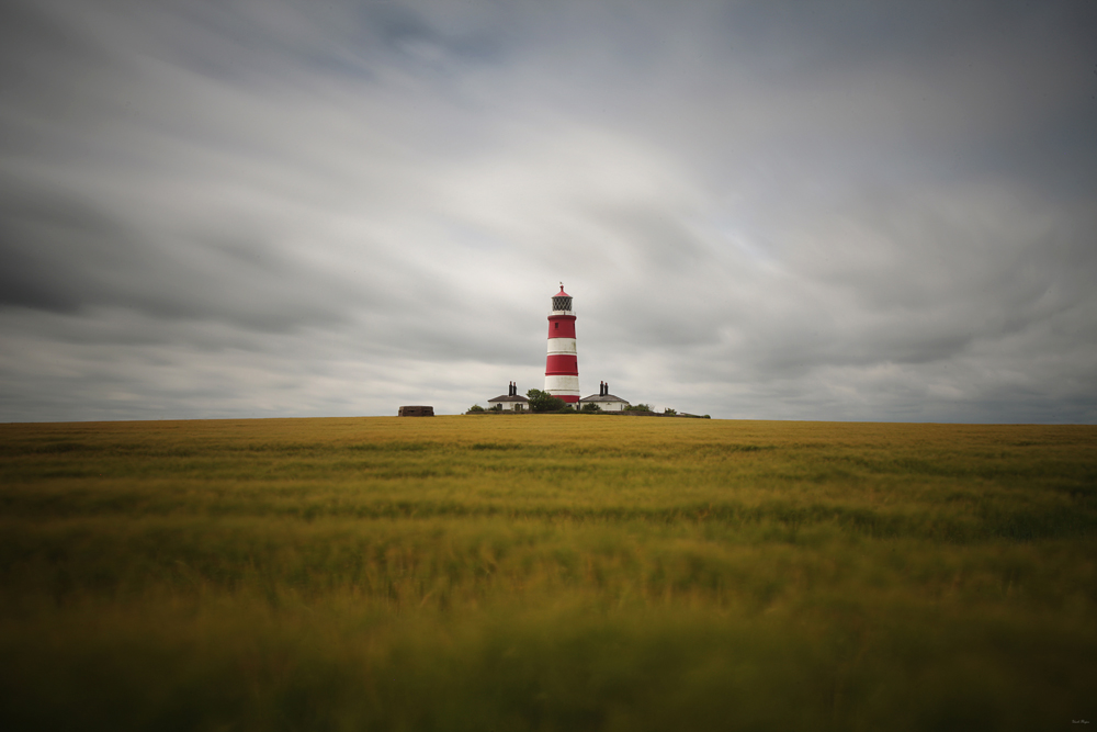 Happisburgh Lighthouse, Norfolk, England, UK