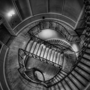 Nelson Stairs (Somerset House, London, UK)