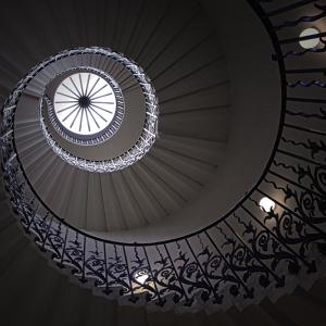 Round and Round (The Tulip Staircase, Queen's House, Greenwich)