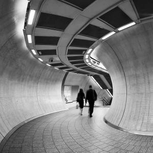 Twist and Turn (Kings Cross/St Pancras Tube Station)